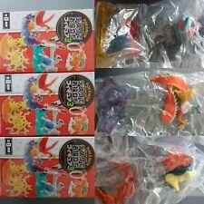 Pokemon Ho-Oh PORYGON Cyndaquil Figures deaktop 3pcs lot boxed TAKARA TOMY