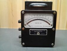 Weston Electrical Instruments, model 433, 0 - 600 AC Volt meter