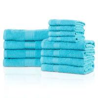 Eco-Friendly 12-Piece Bath Towel Set