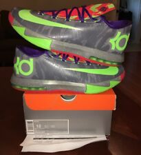 Nike Zoom Kd 6 Vi Nerf Energy Splatter What The Electric Green 12 Jordan 1 2 3 4