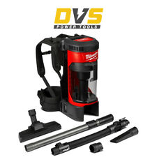 More details for milwaukee m18fbpv-0 cordless 18v 3.8l backpack vacuum w/ hepa filter body only