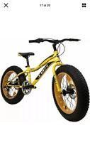 """IBK Bicicletta FAT BIKE CROSS 20"""" MTB 6 Velocità Cambio Shimano Freni a Disco"""