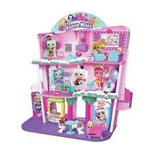 Shopkins shoppies Shopville Super Mall Niños Niñas Conjunto de Juego Casa Muñeca Figura De Juguete