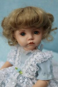 """Molly - OOAK - Porcelain 13"""" Doll - from Dianna Effner Expressions mold- edollru"""