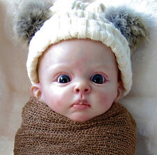"Bambi By Bonnie Sieben New Released Reborn Baby Doll Kit @18""@Body Included"