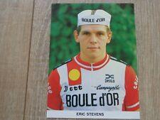 wielerkaart 1983 team boule dor colnago eric stevens