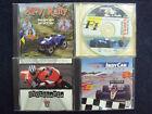 4 Vintage Windows 95 Cd Rom Pc Driving Racing Games Computer Classics