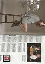 SP24 Clipping-Ritaglio 2011 Coco Sumner Papà Sting mi ha regalato la vita, non