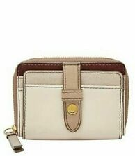 FOSSIL Women's Fiona Zip Coin Wallet - CHAMPAGNE / RRP £45
