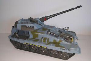 1986 Lanard Marauders Blue CORPS Tank Vehicle