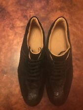 Mens Belvedere  Black Casual Fashion Sneakers Size 14 NEW W/ Out Box