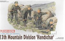 Dragon 13th Mountain Division 'Handschar' , 4 Figures in 1/35 6067