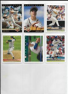 2 COMPLETE Baseball Trading Card Sets ~ 1993 Upper Deck Series 1,1996 Leaf ~ HOF