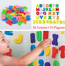 36pcs Baby Kids Children Foam Letters Numbers Bathroom Bath tub Toys GB