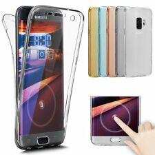 Coque TPU Integrale Silicone Full Protection Galaxy S10/S9/J6/J3/A9/A50/A40/A10