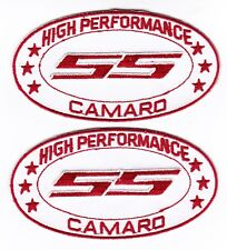 CHEVY SS CAMARO SEW/IRON ON PATCH EMBLEM BADGE EMBROIDERED 2010 CAR