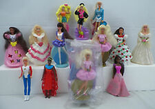 90s McDonalds Happy Meal Barbie Mattel Toys Dolls Lot of 13