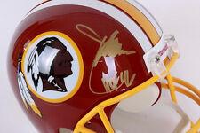 Joe Gibbs Signed Washington Redskins Full Size Riddell Replica Helmet HOF