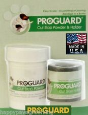 PRO Pet Dog Cat Bird Quick Stop Styptic Powder&Holder KIT SET Wound,Cut,Bleeding