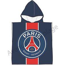 Poncho de bain Paris Saint-Germain, cape de bain PSG, Sortie de bain foot neuf