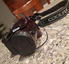 XLNT!! - Nikon COOLPIX B500 16.0MP Digital Camera w/WIFI & GPS - Plum