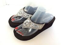 Women Wedge EVA  Platform jewelry.  Flip Flops Sandals Shoes on sales
