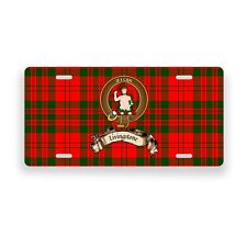 Livingstone Scottish Clan Novelty Auto Plate Tag Family Name License Plate