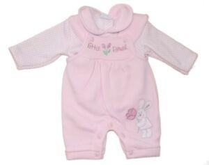 Aardvark Shirt & Latzhose ***Bunny*** Gr.50-62 Rosa  England  NEU