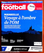 FRANCE FOOTBALL 5/11/2013; Mathieu/ Abdennour/ Marseille/ PSG/ Ballon d'or