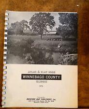1974 Land Atlas and Plat Book, Winnebago County, Illinois, Historic Maps