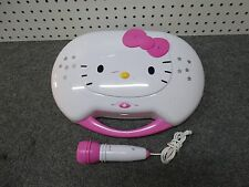 Hello Kitty KT2003 Karaoke System Player/CD Player