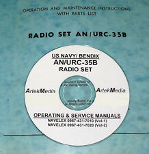 AN/URC-35B Technical  Manual (Operating & Service)