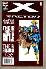 X-Factor #100-1994 nm- Foil Cover / X Men Newsstand Variant Giant-Size