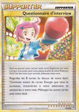 Questionnaire d'Interview-L'Appel des Légende-79/95-Carte Pokemon Neuve