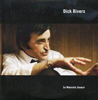 CD single Dick RIVERSLe mauvais joueur 1-track CARD SLEEVE + RARE+