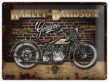 Harley Davidson Blechschild 30x40 cm V Twins 1936 Blechschilder Schild Biker