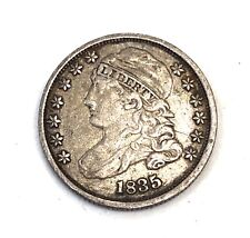 1835- U.S. SILVER BUST DIME HIGH GRADE, PROBLEM  FREE--- SEE OTHER RARE COINS
