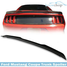 Unpainted Ford Mustang 6th GT GT350 2DR V-Type Rear Trunk Spoiler Wing 2017