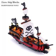 NEW Nano block Building Blocks Pirates of Caribbean pirate ship models 780PCS