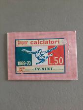 BUSTINA  SUPER  CALCIATORI PANINI 1969/70  PIENA SIGILLATA PERFETTA   !!