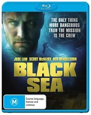 Black Sea (Blu-ray, 2015) Jude Law New & Sealed!