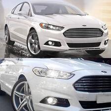 4x Xenon White LED Low Beam Headlight + Fog Bulbs For 2006-2016 Ford Fusion