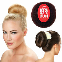 """Miss Pouty Large 6"""" Hair Bun Perfect Hollywood Ring Donut Style Bridal Wedding"""