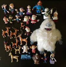 Vintage Rudolph The Red-Nosed Reindeer Playset 29 Pieces Misfits Bumble Snowman