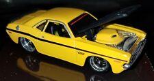 Maiato 2006 1/64 Pro Rodz 1970 Dodge Challenger R/T Yellow N Black Loose Mint