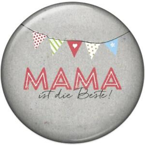 Mother Is the Best Magnet Present Fridge Decor Trend 3D Quote Weißheit