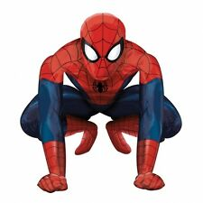 """Life Size 36""""x36"""" SPIDERMAN AirWalkers Foil Air Helium BALLOON Party Spider Man"""