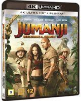 Jumanji Welcome to the Jungle 4K UHD + Blu Ray
