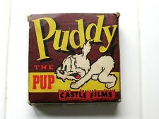 Vintage 16MM --  PUDDY THE PUP -- Castle Films #792 FOOLISH FABLES - Terry Tunes