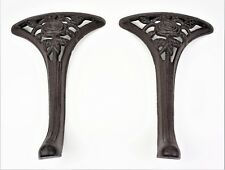 "2 Cast Iron 13 3/4"" Legs - Bench or Coffee Table"